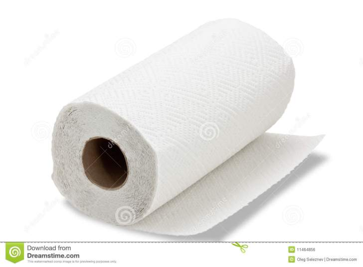 Kitchen Paper Towel Royalty Stock