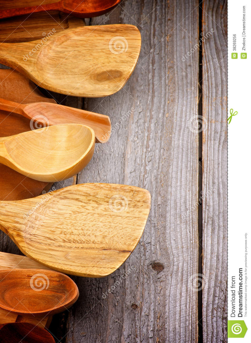 Kitchen Utensils Border Stock Photo Image Of Concept