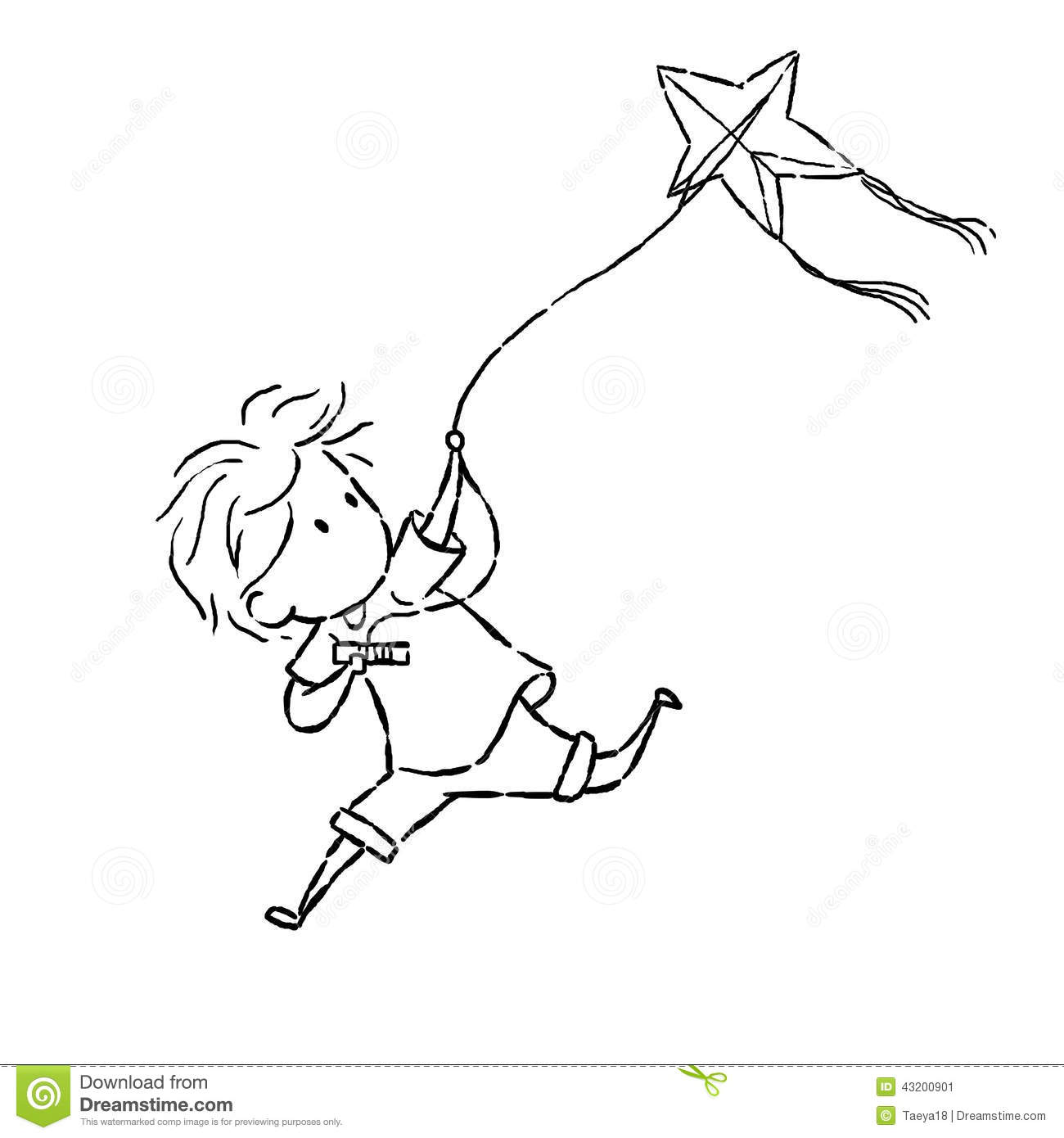 Kiting Cartoons Illustrations Amp Vector Stock Images