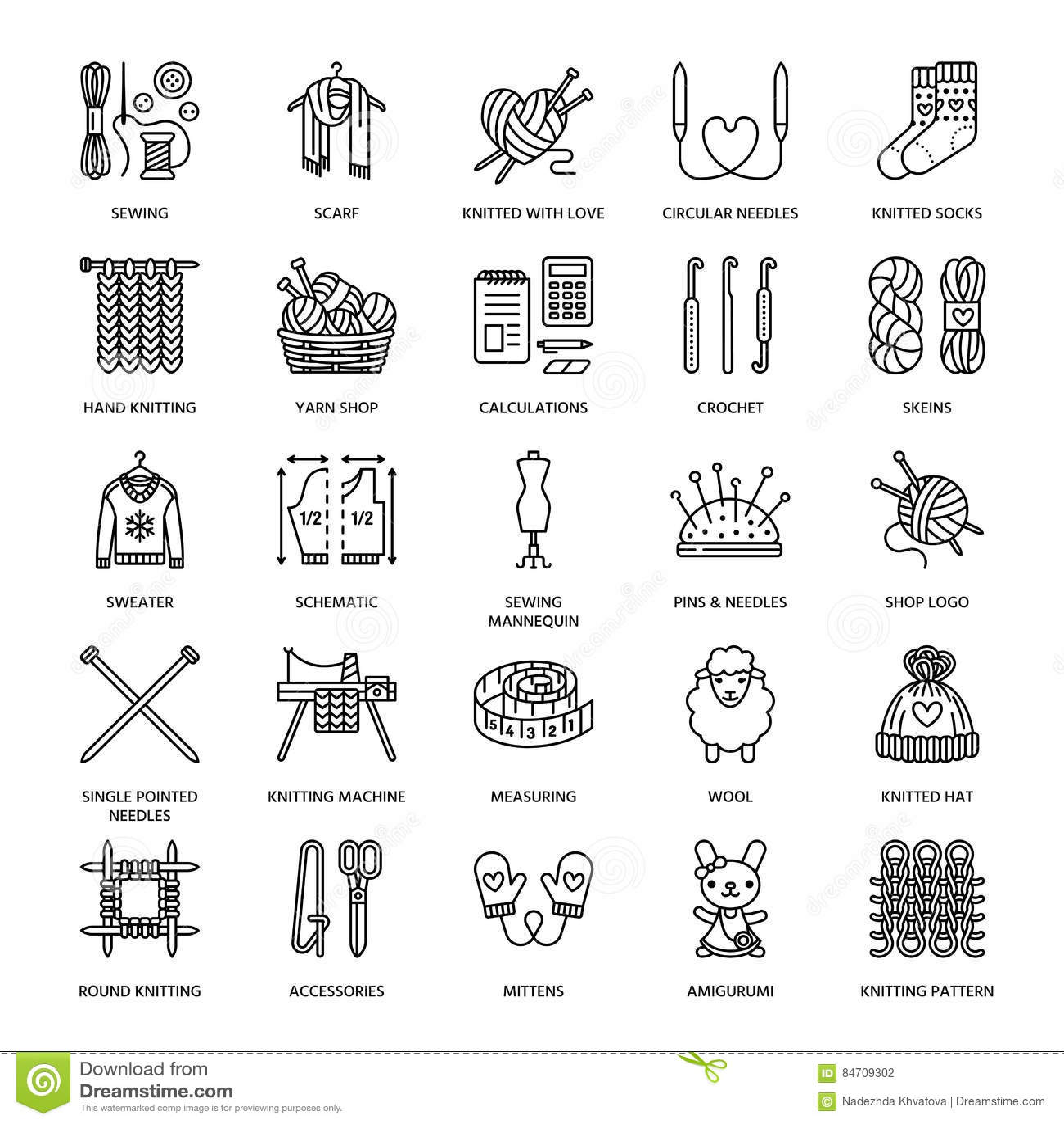 Crochet Stock Illustrations 12 807 Crochet Stock