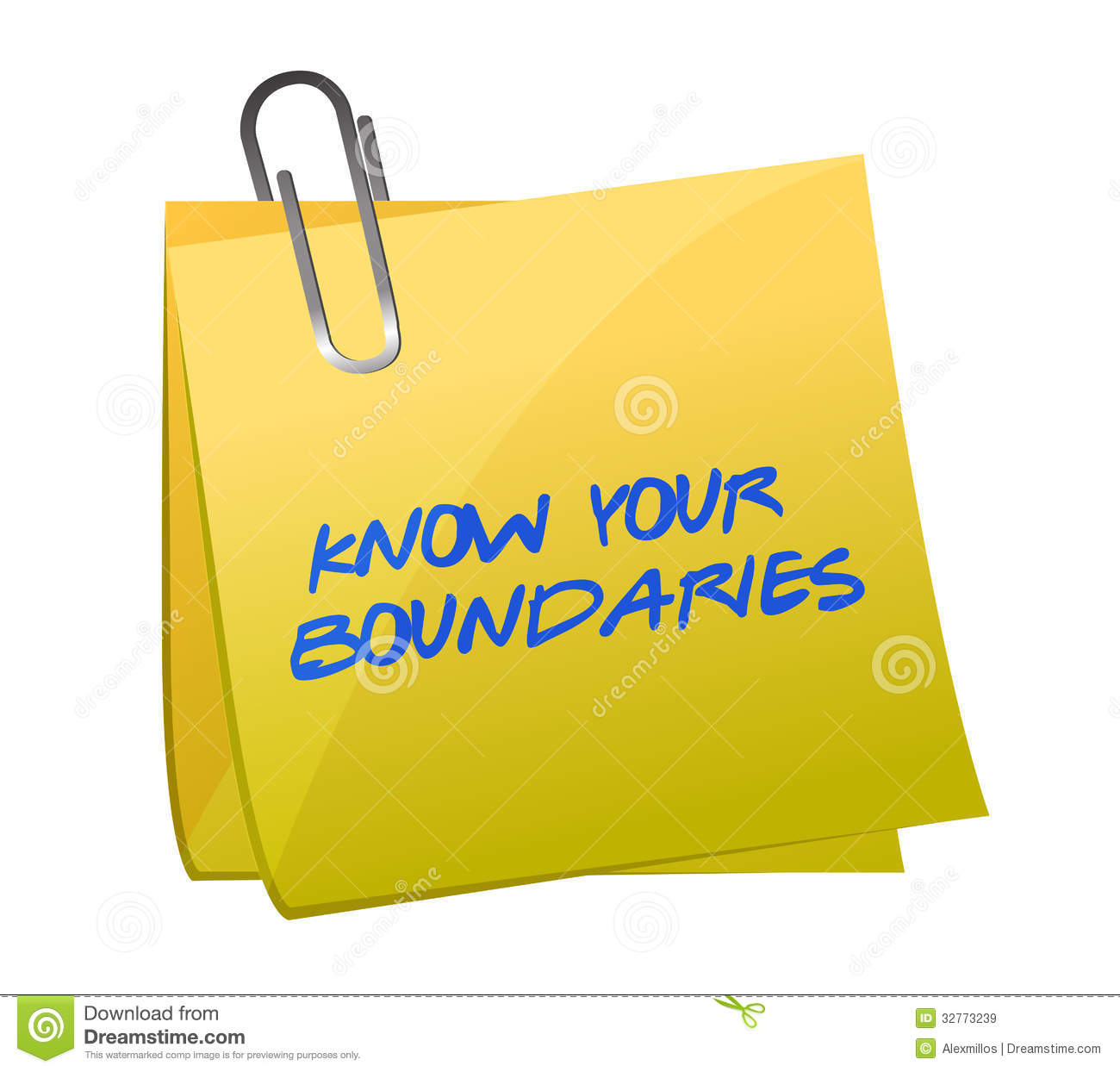 Know Your Boundaries Worksheet
