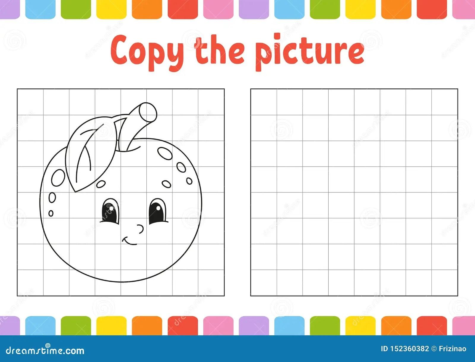Kopieren Sie Das Bild Malbuchseiten F R Kinder Sich