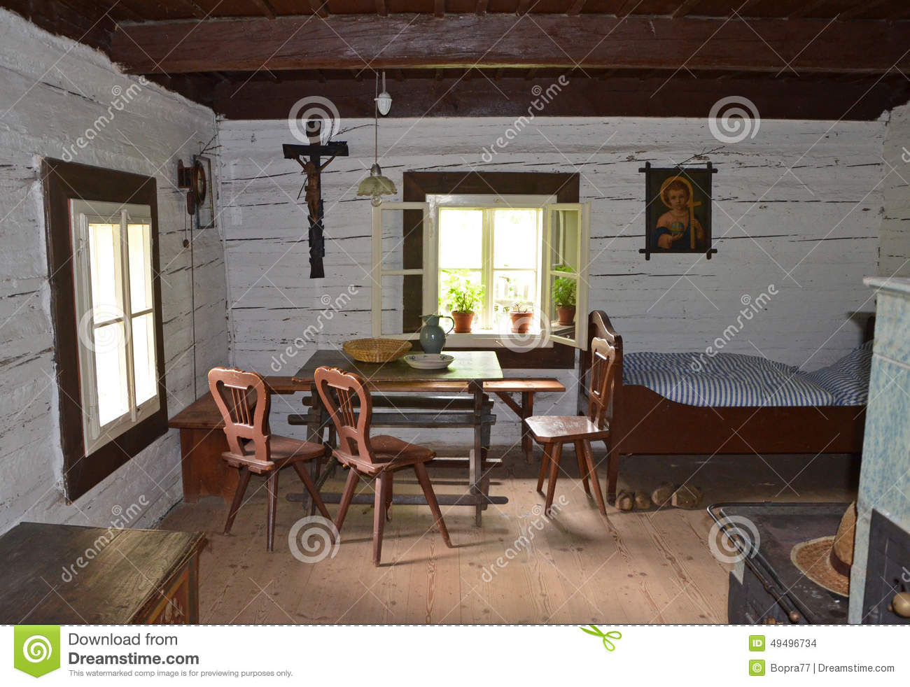 KOURIM MAY 24 Interior Of Traditional Village House