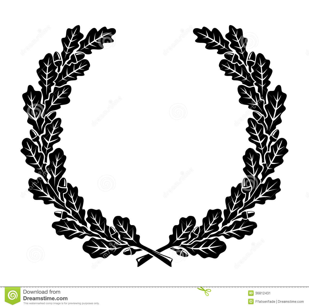 Kranz Stock Abbildung Illustration Von Symbol Wreath