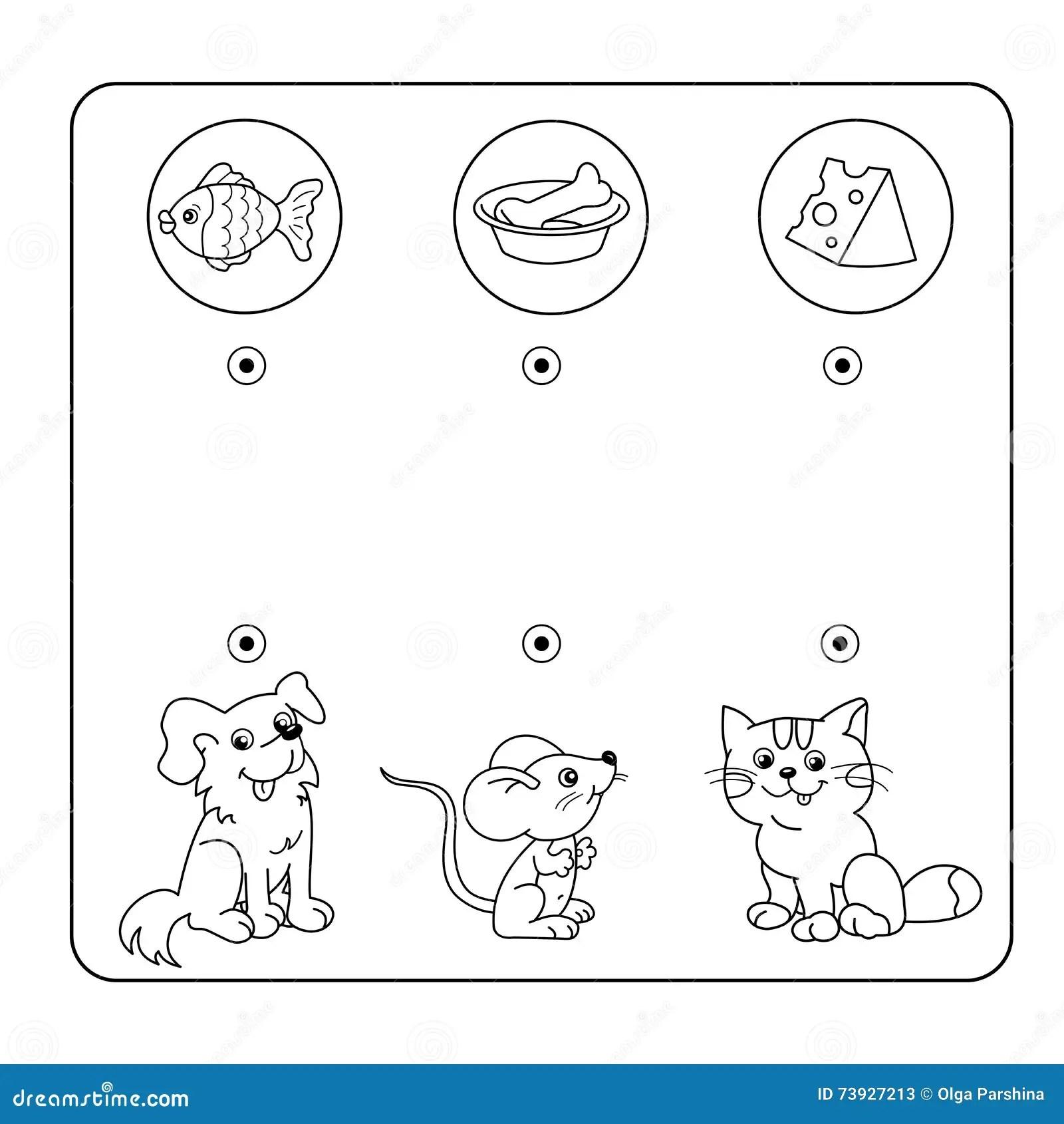 Kreskowek Zwierz Ta I Ich Ulubiony Jedzenie Labirynt Lub