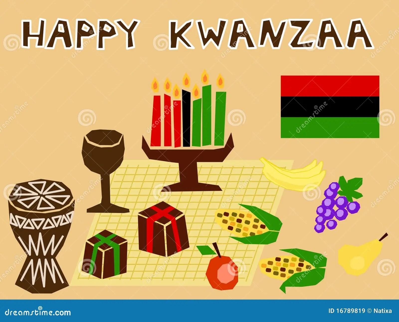 Kwanzaa Stuff Royalty Free Stock Images