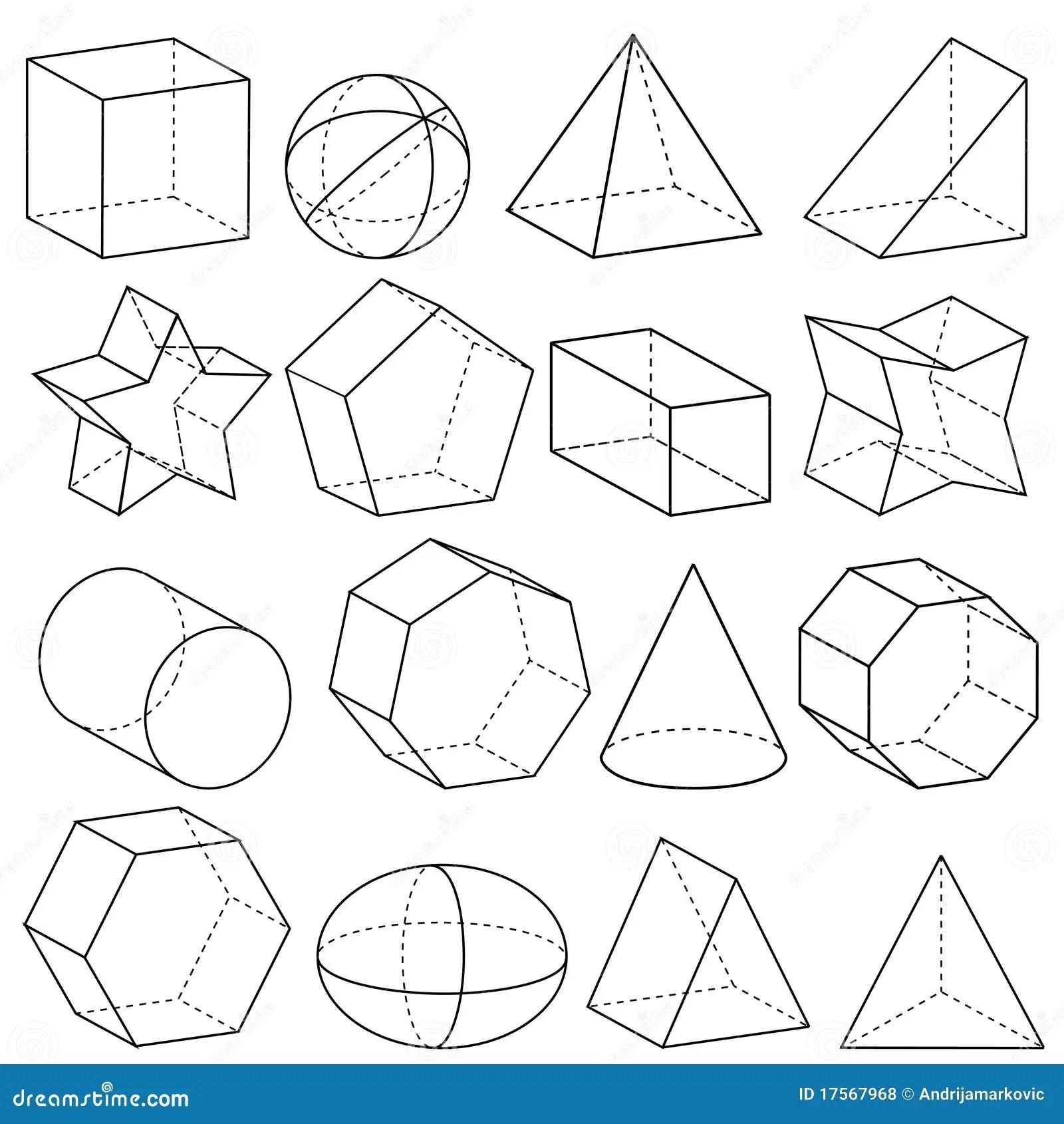 La Geometria Illustrazione Vettoriale Illustrazione Di