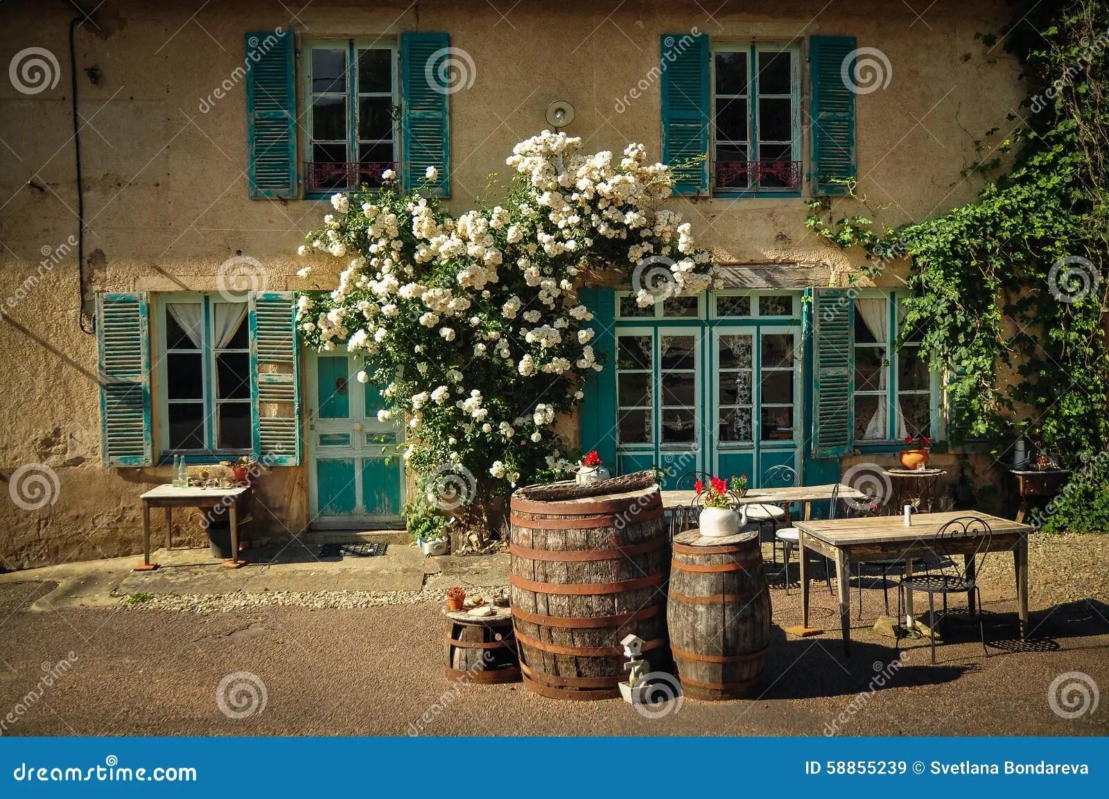 La Maison Francais French House Stock Image