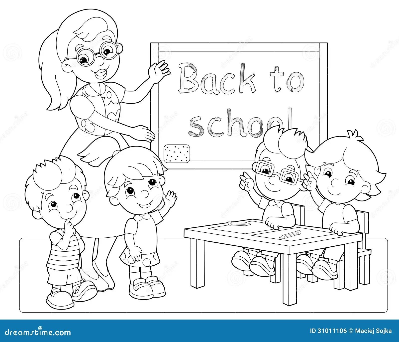La Page Avec Des Exercices Pour Des Enfants