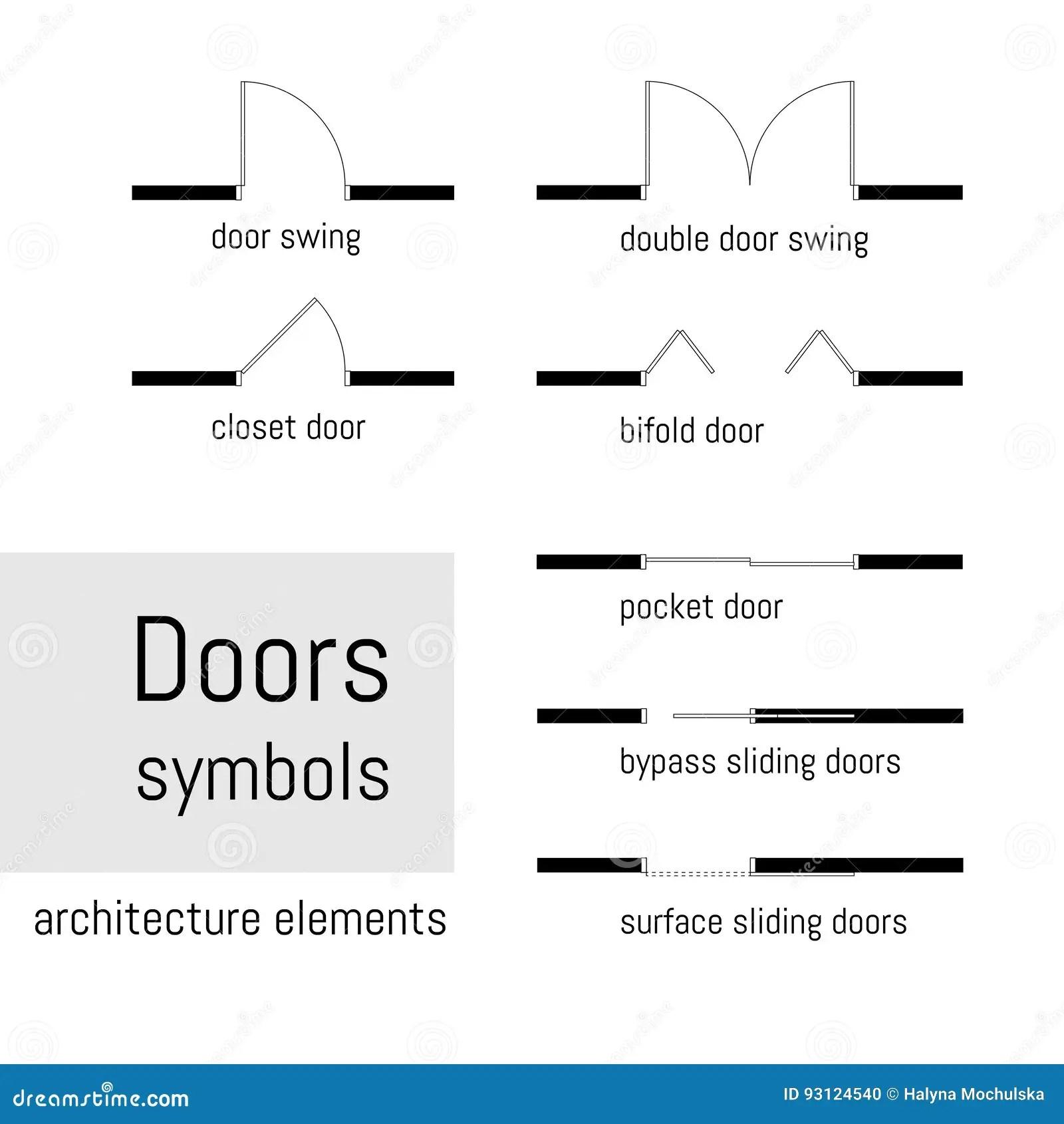 La Vision Superior Simbolos De La Construccion Usados En