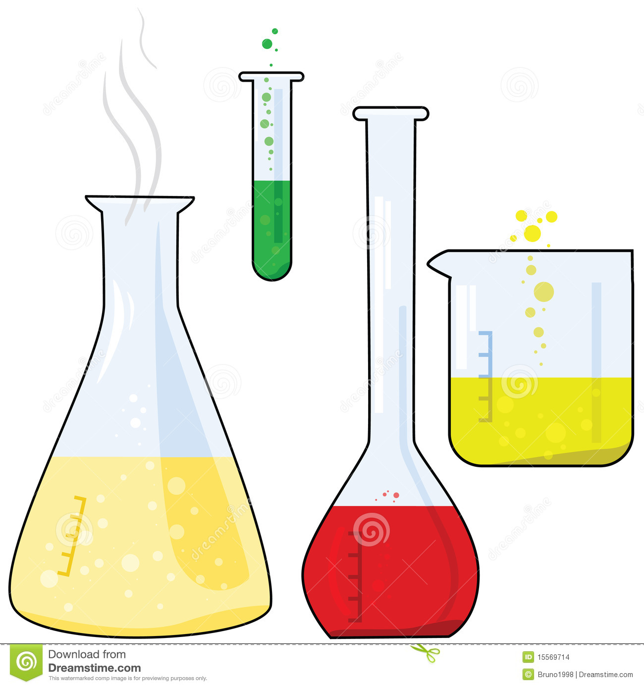 Laboratory Equipment Stock Vector Illustration Of