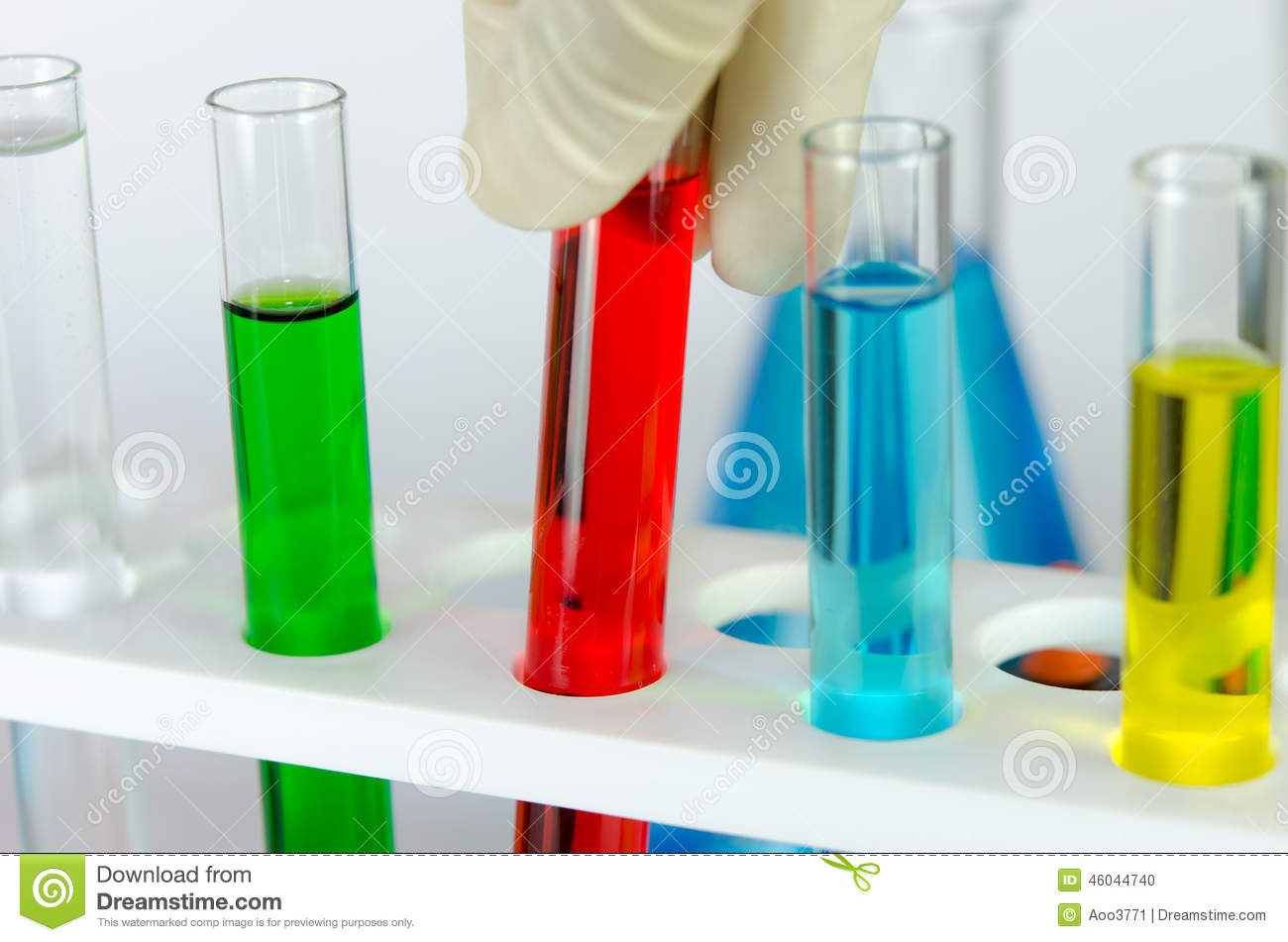 Laboratory Glassware Stock Photo Image Of Color Industry
