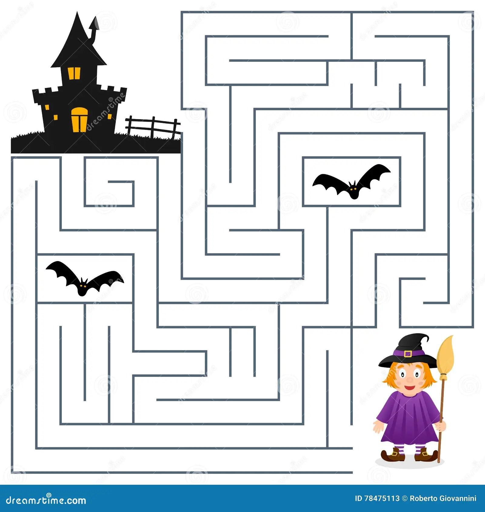 Labyrinthe De Halloween
