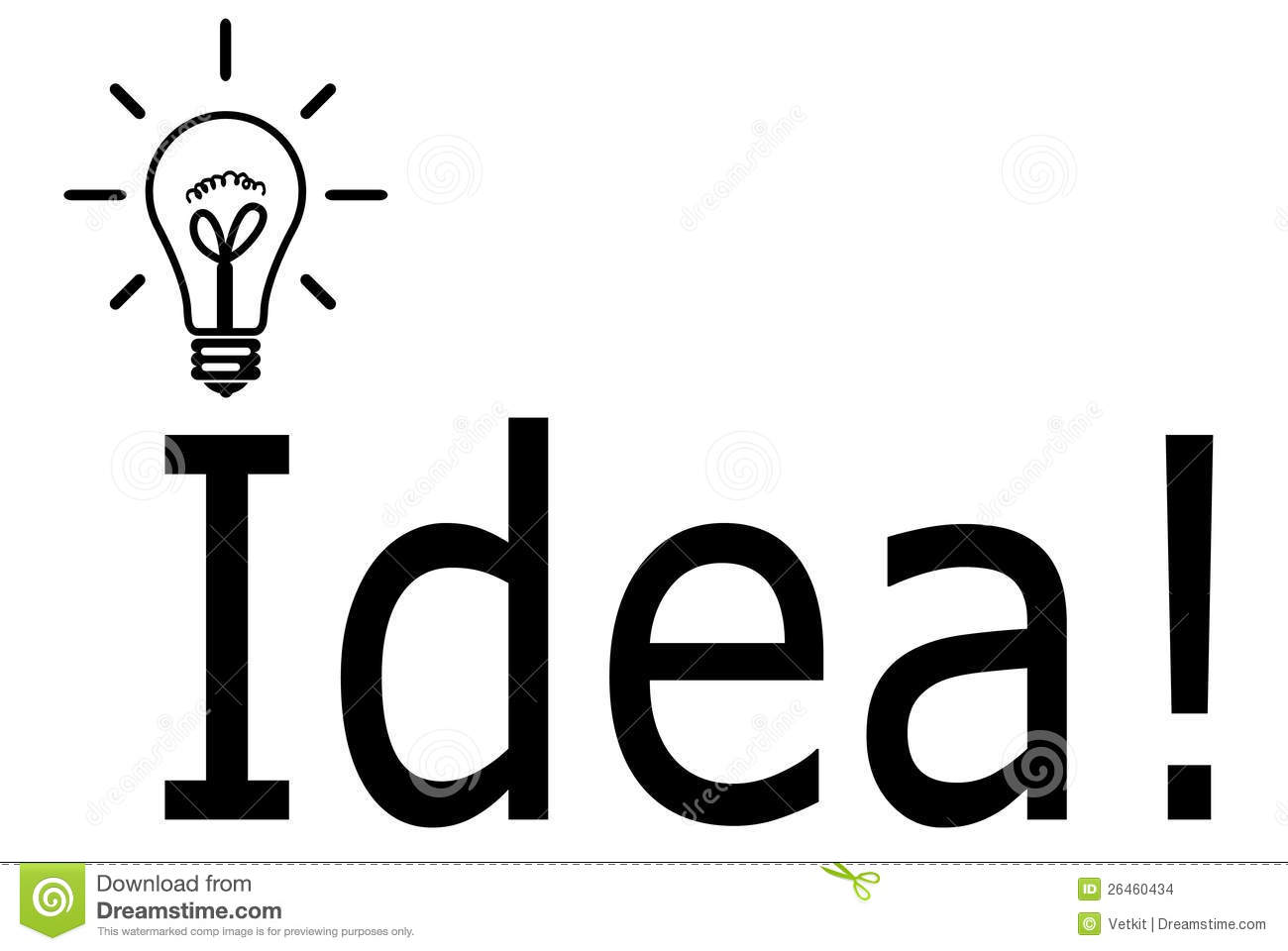 Lamp Idea Symbol Stock Images