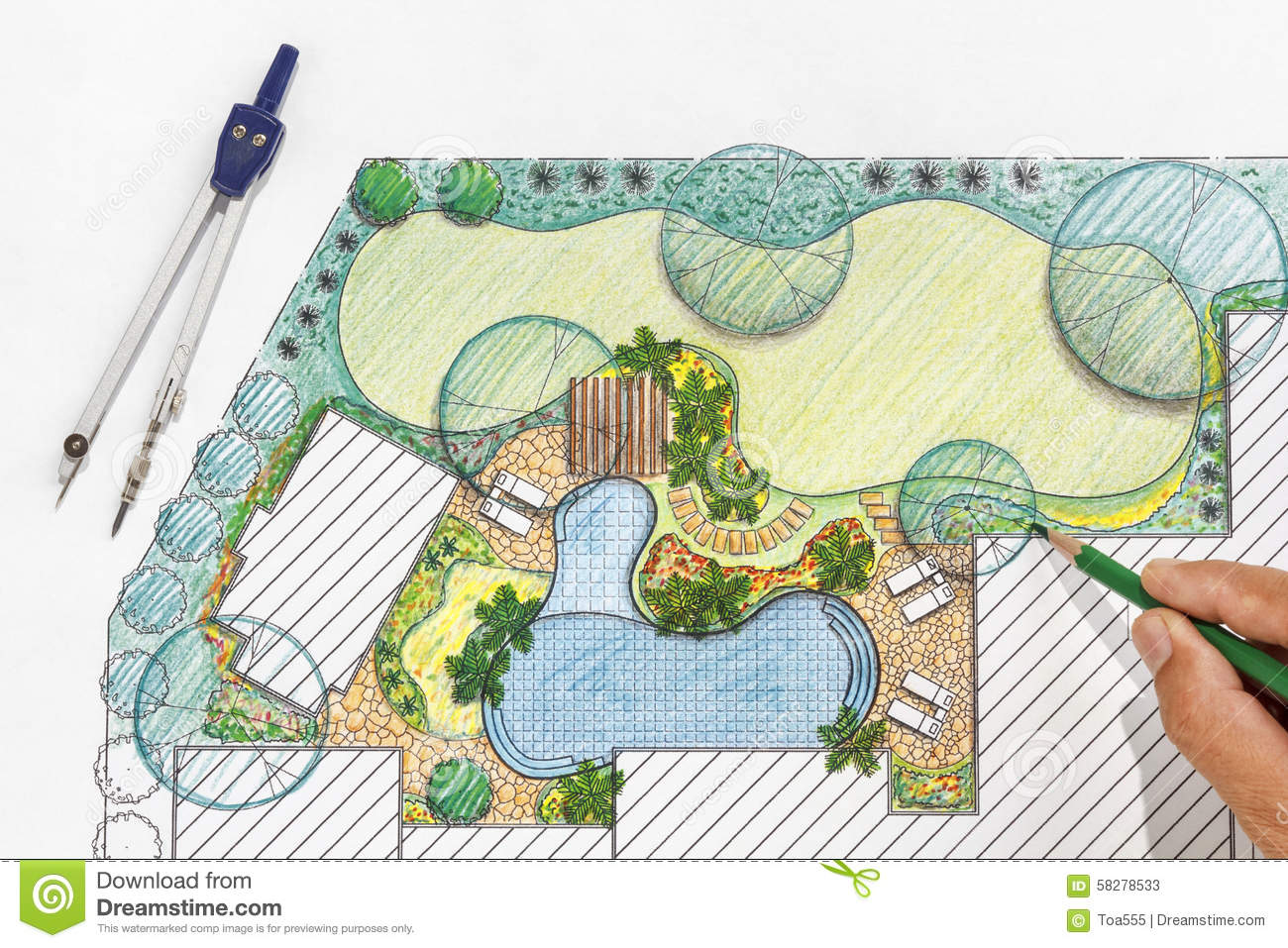 Garden Layouts Small Gardens