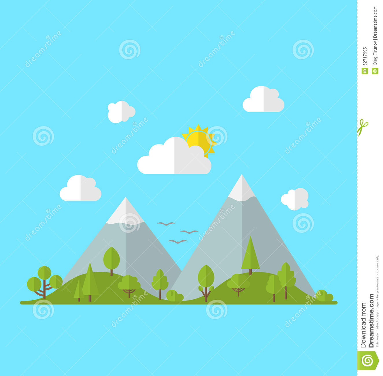Landscape Woods Valley Hill Forest Land Scene View