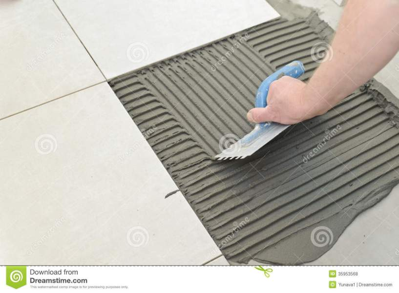 Laying Ceramic Tiles stock photo  Image of ceramic  contractor     Download Laying Ceramic Tiles stock photo  Image of ceramic  contractor    35953568