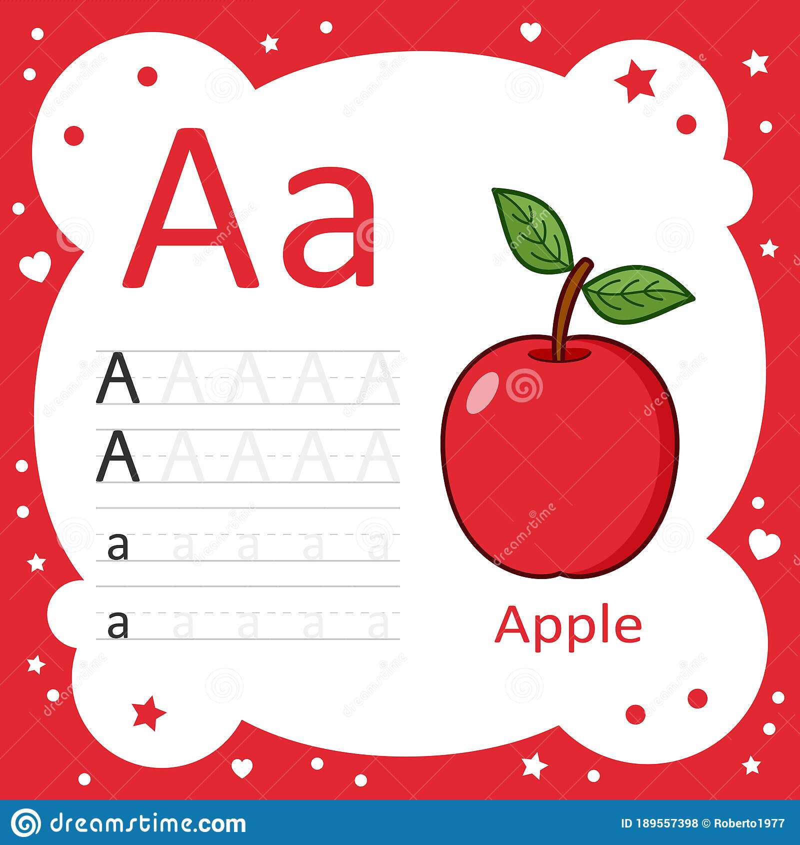 Learning Alphabet Tracing Letters