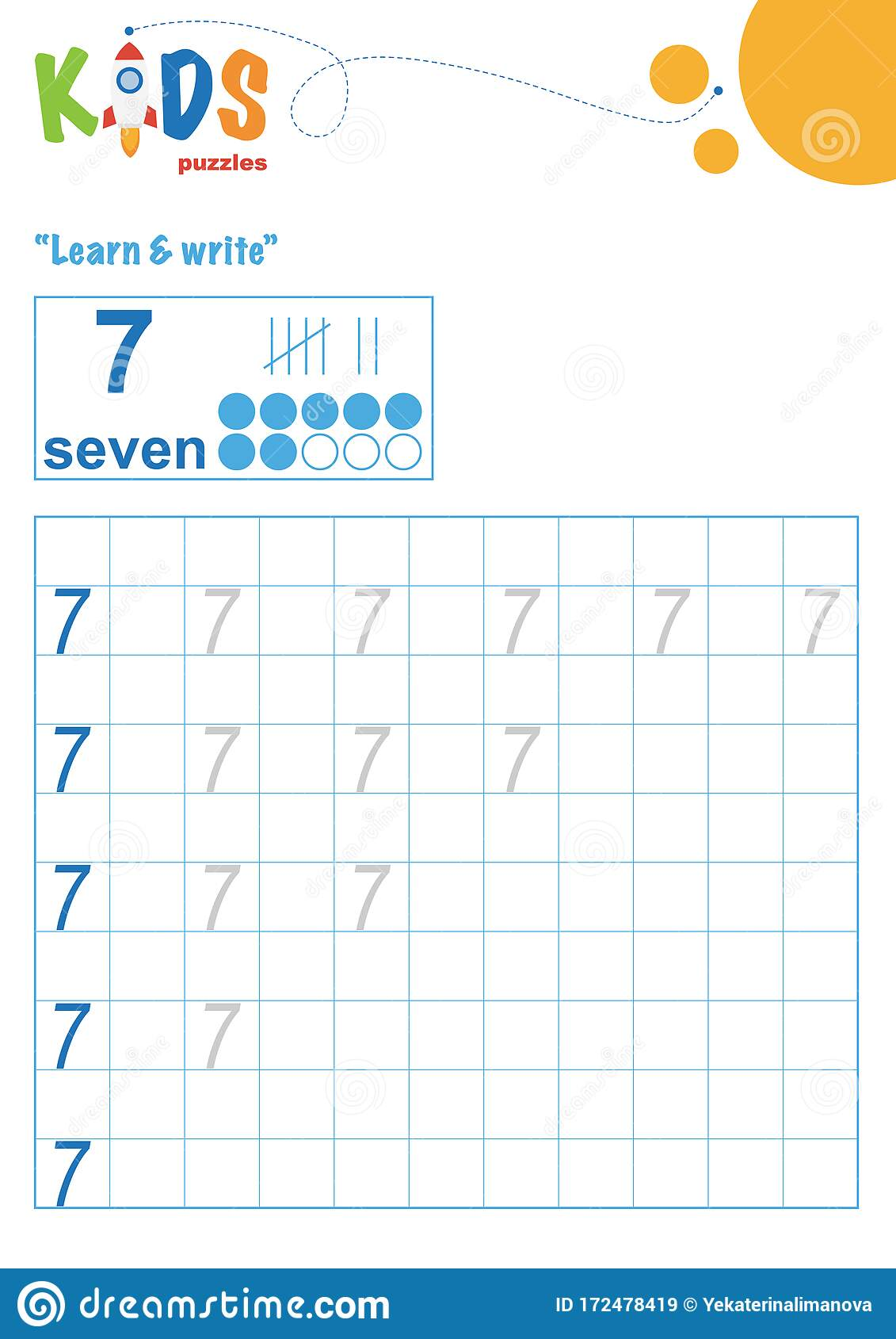 Learning Numbers Learn And Write Numbers Easy Colorful