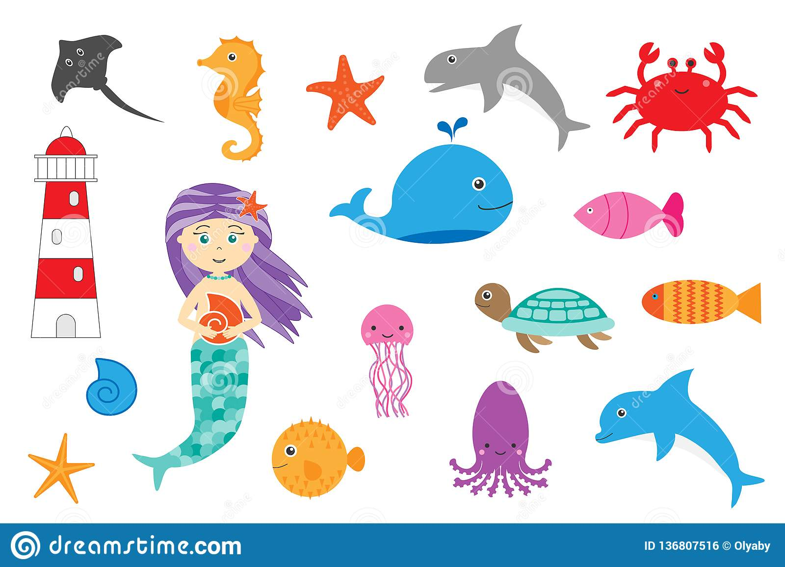 Learning Ocean Animals For Children Fun Education Game
