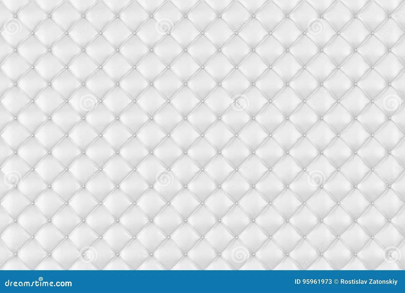 Leather Upholstery Sofa Background White Luxury