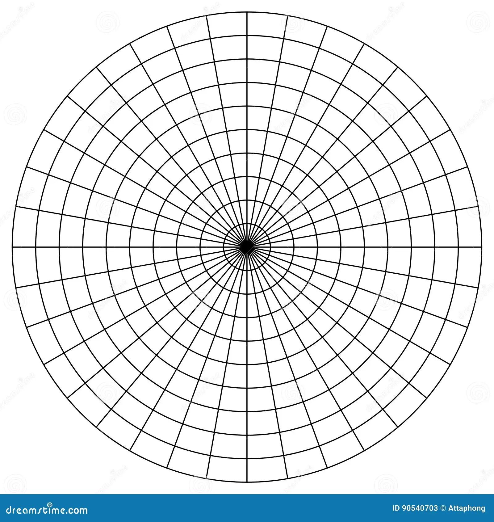 Leeg Polair Millimeterpapier