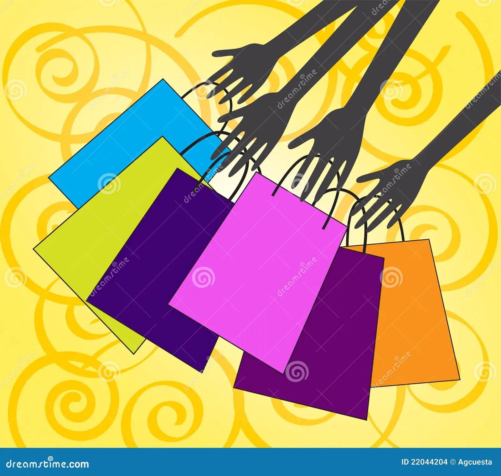 Let S Go Shopping Stock Illustration Illustration Of
