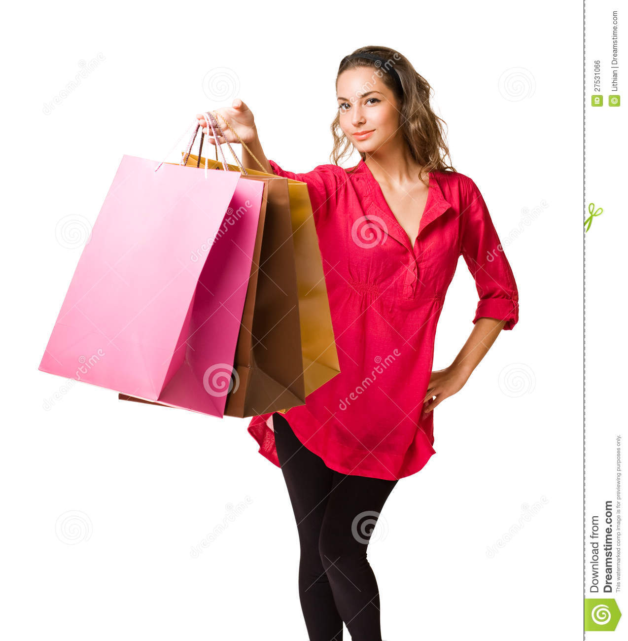 Let S Go Shopping Stock Photo Image Of Posing