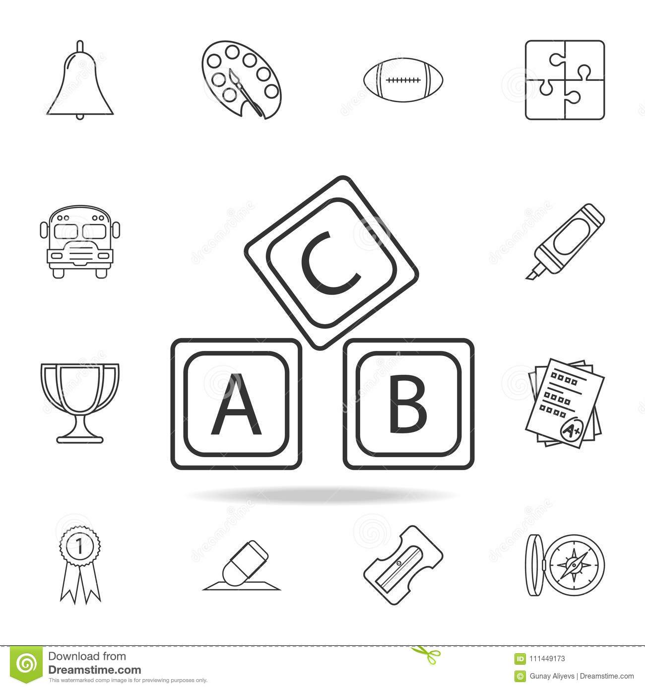 Set Of Icons And Logo Elements Letter Z Cartoon Vector