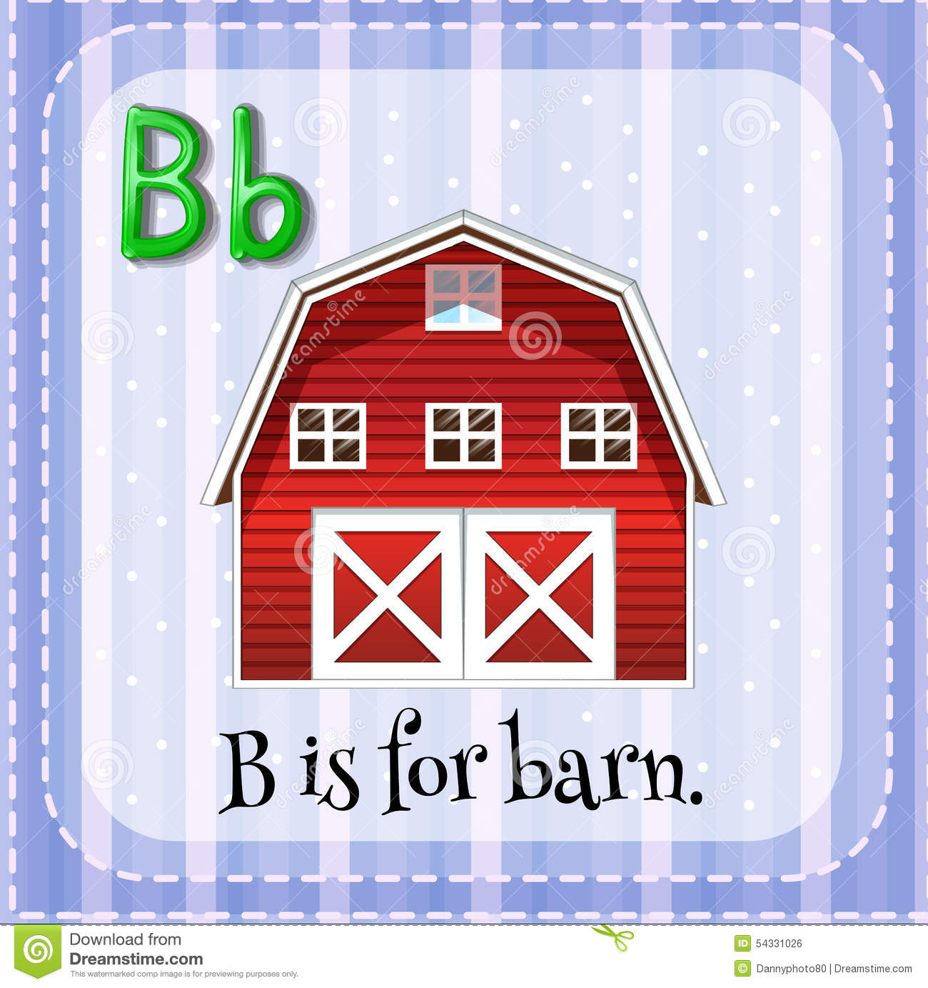 Letter B Stock Vector Image Of Border Education Drawing