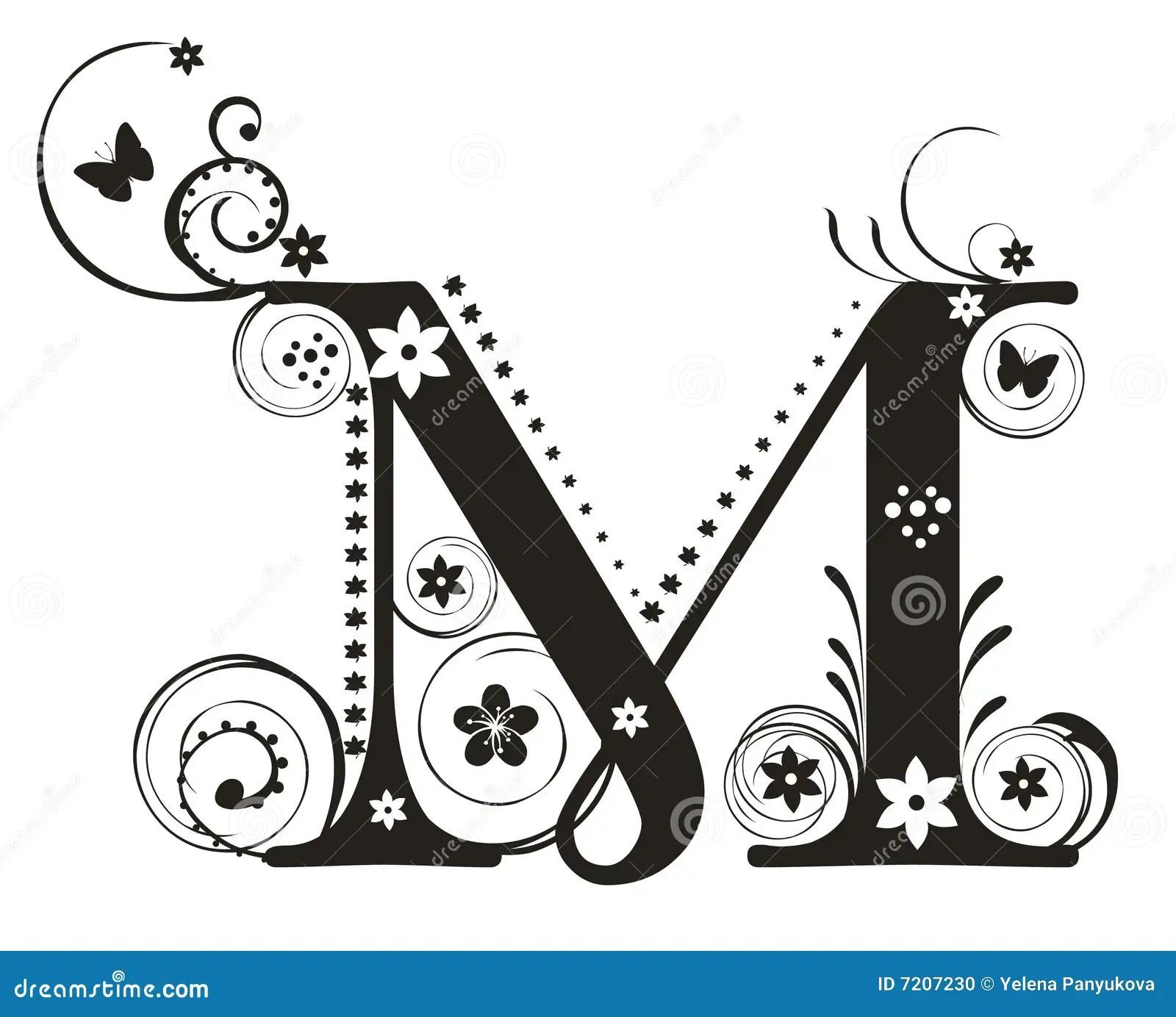 Letter M Stock Vector Illustration Of Illustration