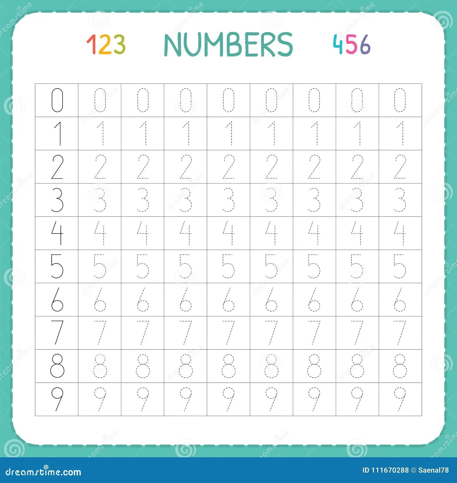 Liczby Dla Dzieciakow Worksheet Dla Dziecina I Preschool