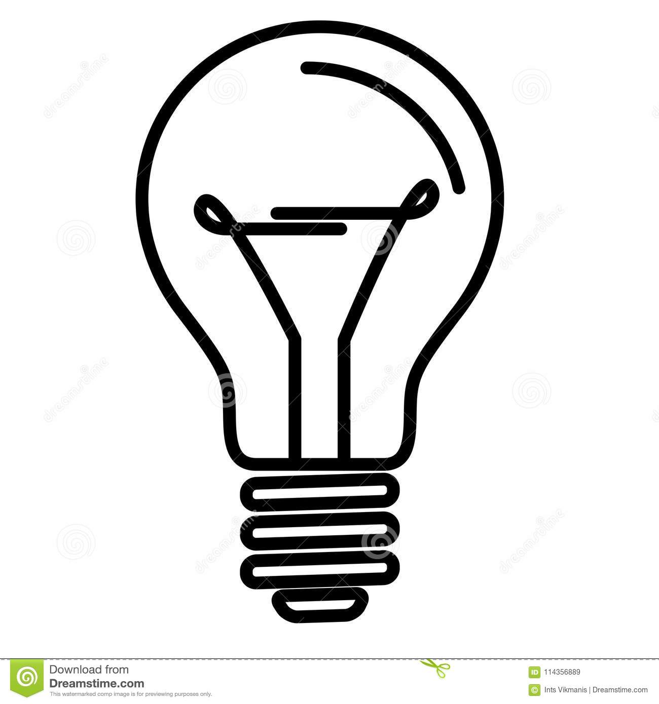 Electrical Symbol For Light Bulb