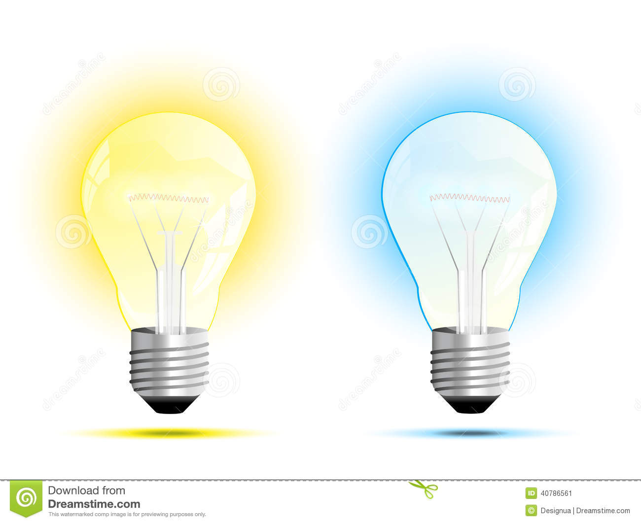 Bright White Light Bulbs