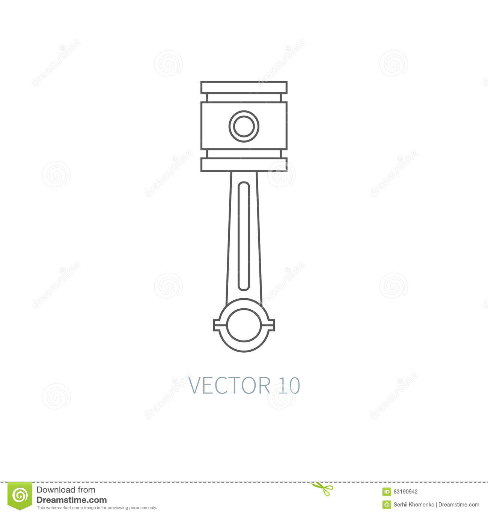 Industrial Equipment Machine Vector Icon Cartoon Vector