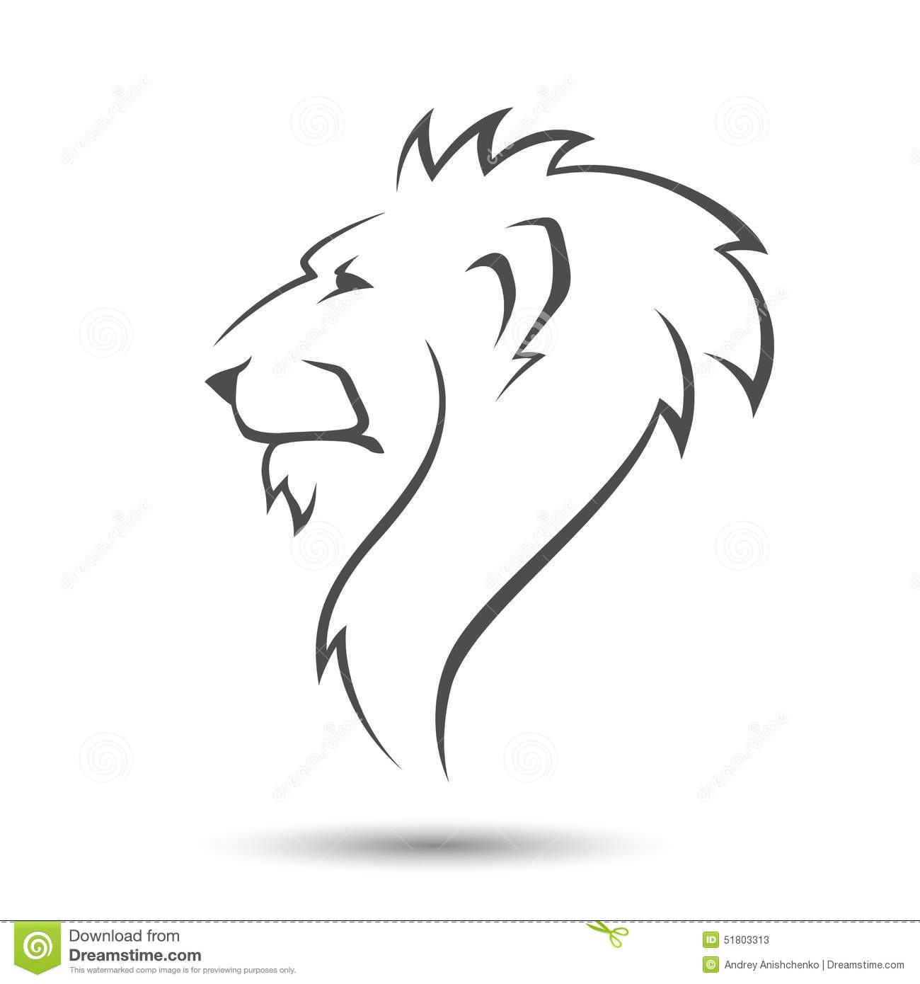 Lion Head Stock Vector Illustration Of Nature King