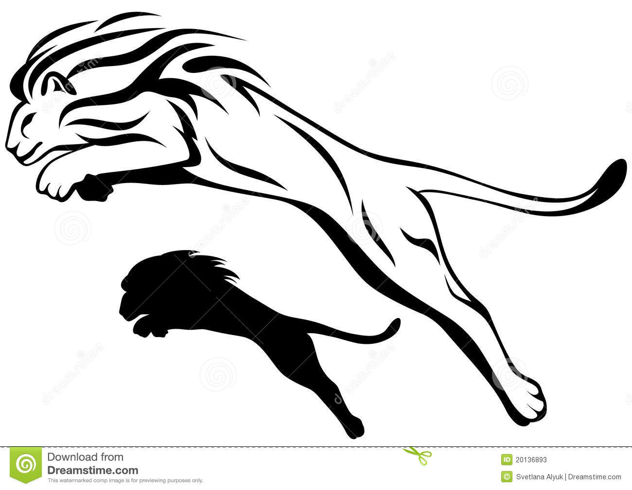 Lion Vector Stock Vector Image Of Angry Vector Fierce