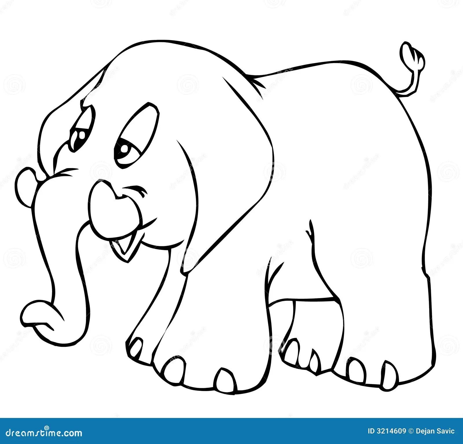 Little Elephant Royalty Free Stock Images