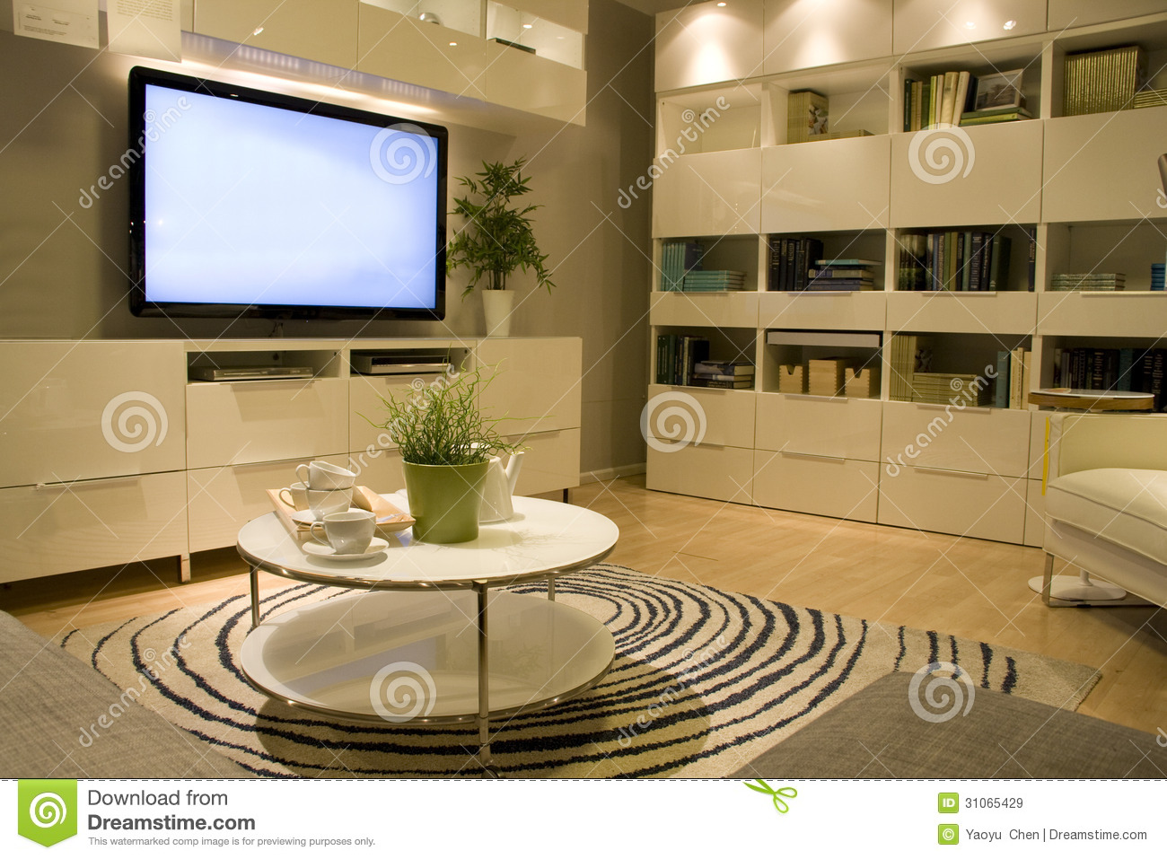 Living Room Furniture Store Stock Image   Image of painting     Living room furniture store