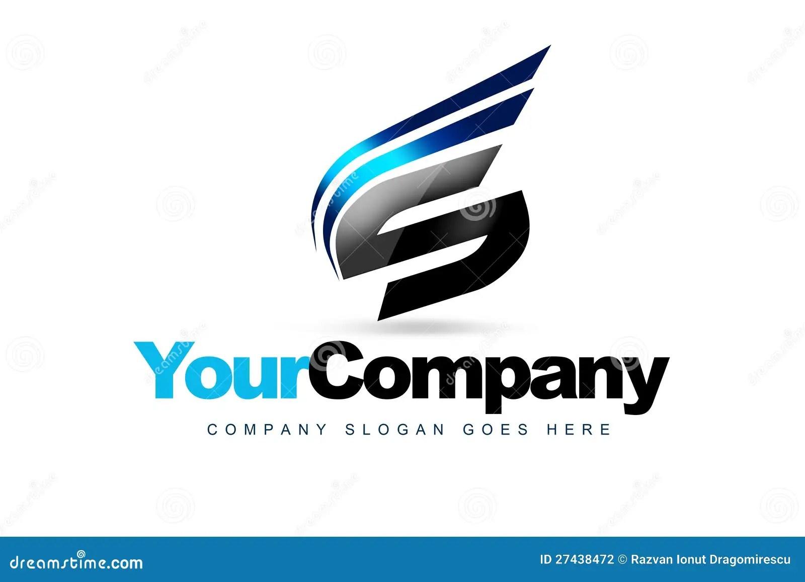 Logo Della Lettera S Illustrazione Di Stock. Illustrazione