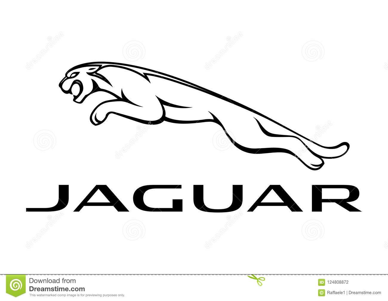 Logo Jaguar Editorial Photography Illustration Of Motors
