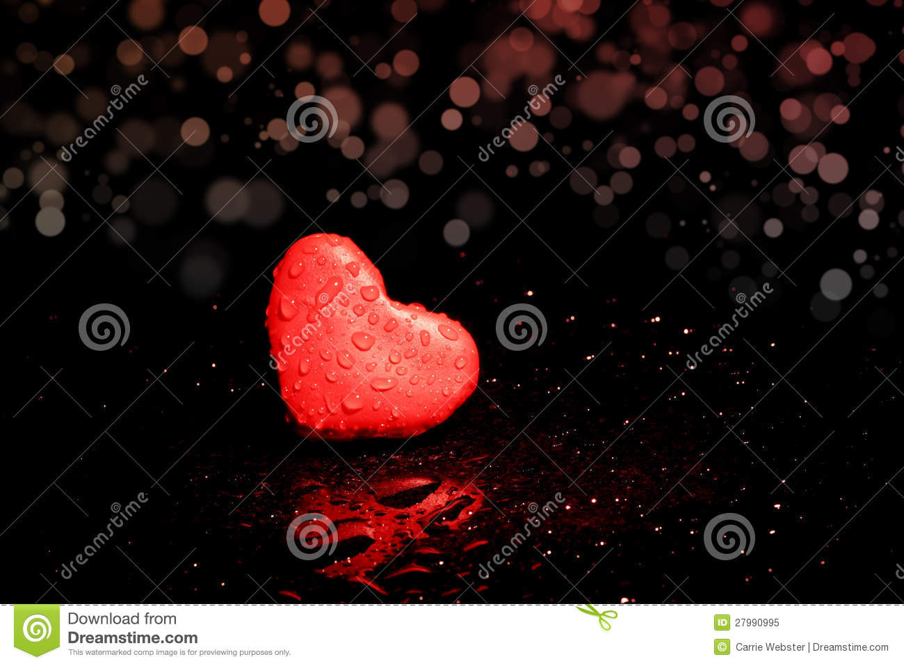 Lonely Heart Royalty Free Stock Photo Image 27990995