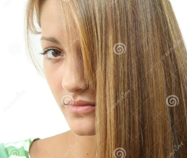 Long Hair Teen Girl