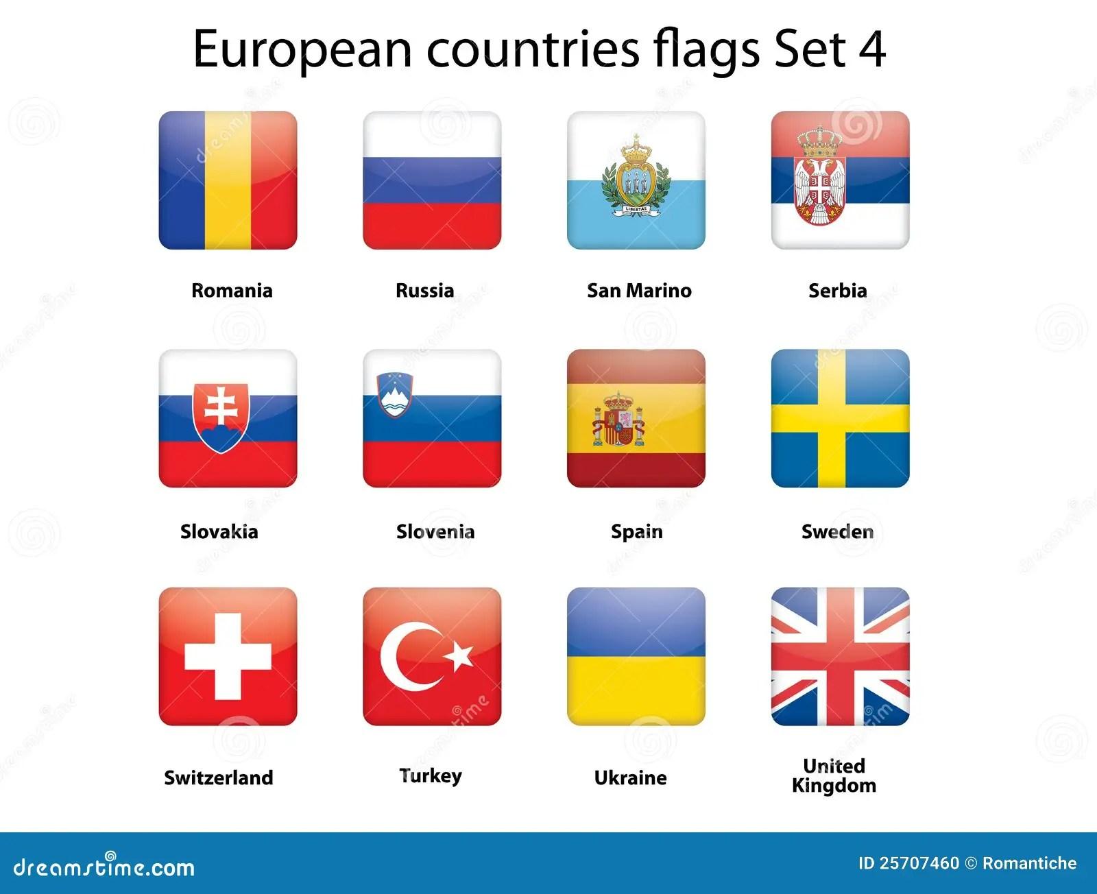 Los Indicadores De Paises Europeos Fijaron 4 Ilustracion