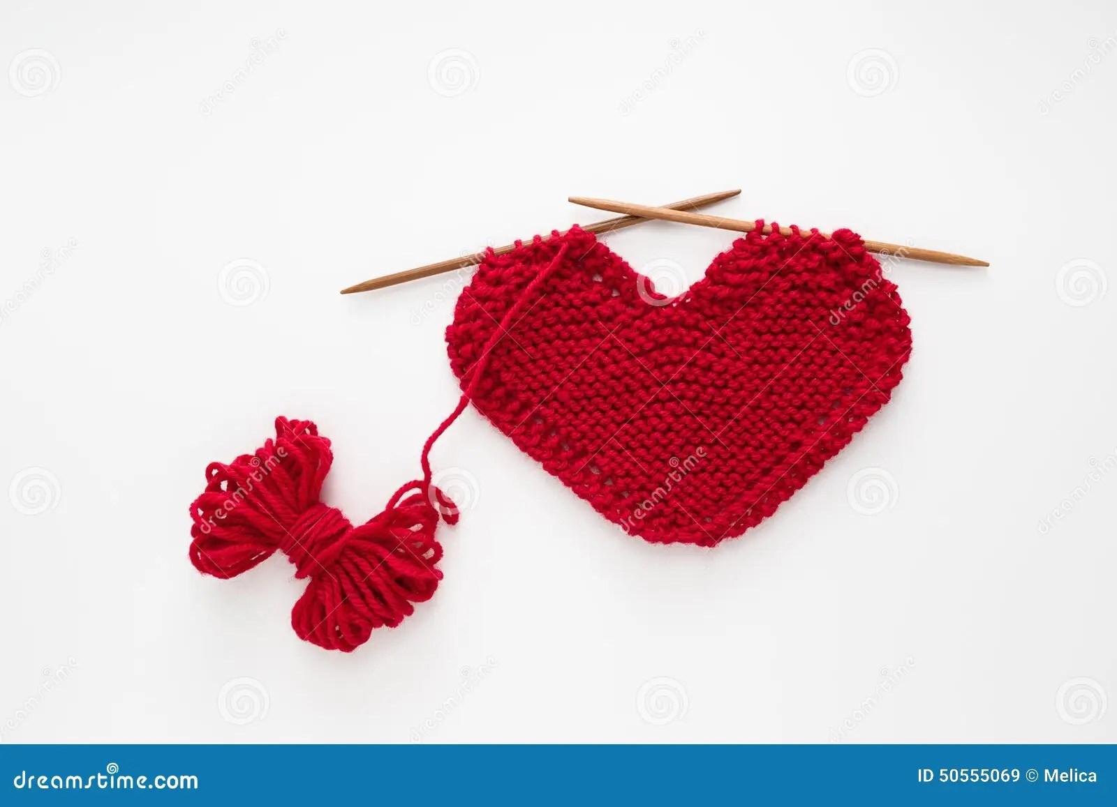 Love Knitting Stock Photo Image 50555069