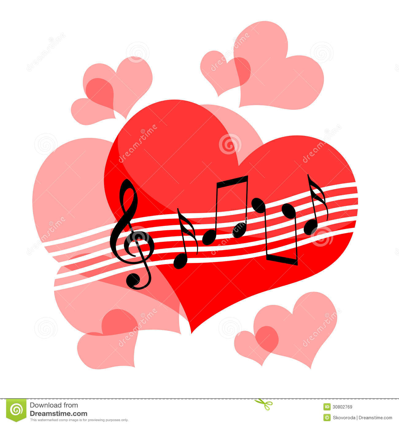 Love Music Royalty Free Stock Images Image 30802769