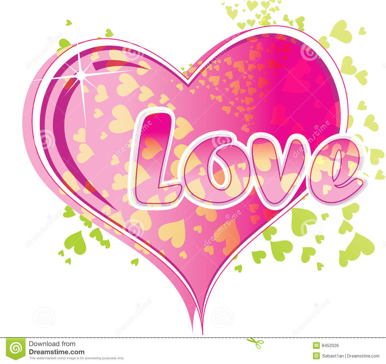 Love Text Royalty Free Stock Image Image 8452026