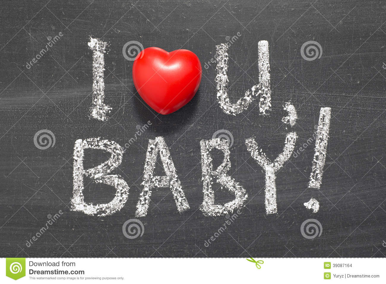 Love You Baby Stock Photo Image Of Symbol Relation 39087164