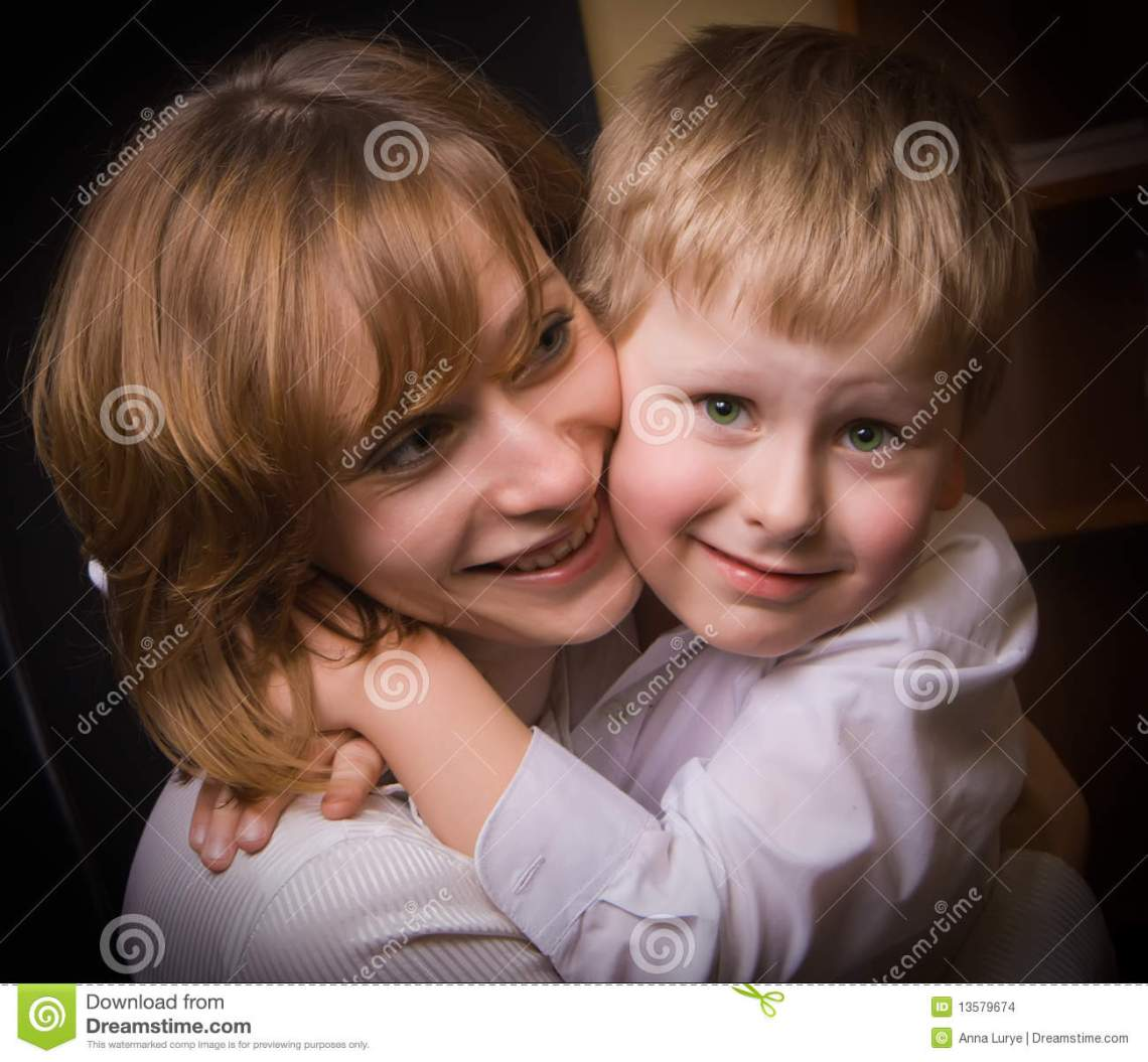 Download Loving Mother And Son stock photo. Image of child, care ...