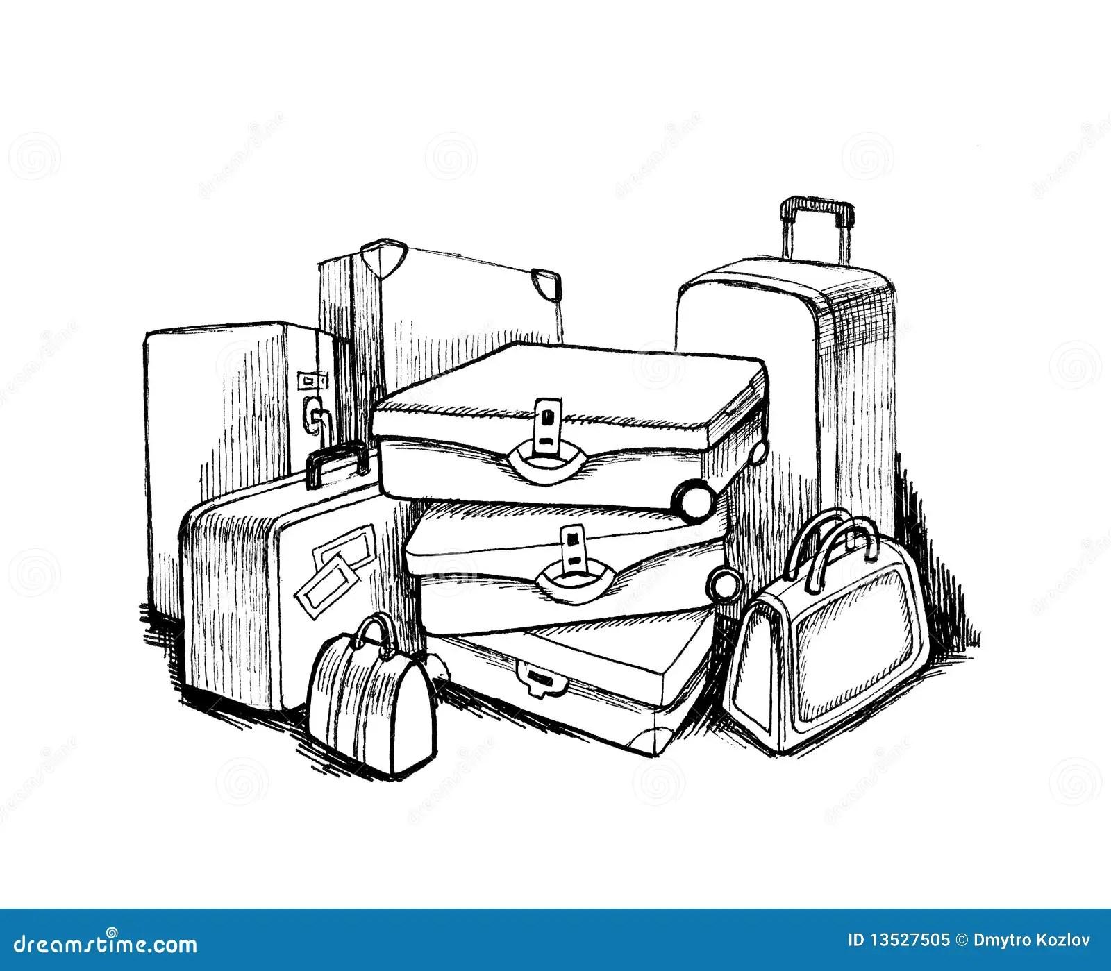 Luggage Stock Illustration Illustration Of Journey